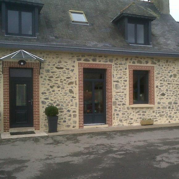 Portes fenêtre Giteau menuiserie Sarthe 72 Sablé-sur-Sarthe
