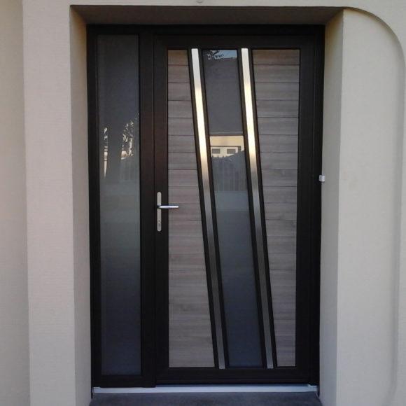 Porte PVC Giteau menuiserie Mayenne 53 Meslay-du-Maine Laval