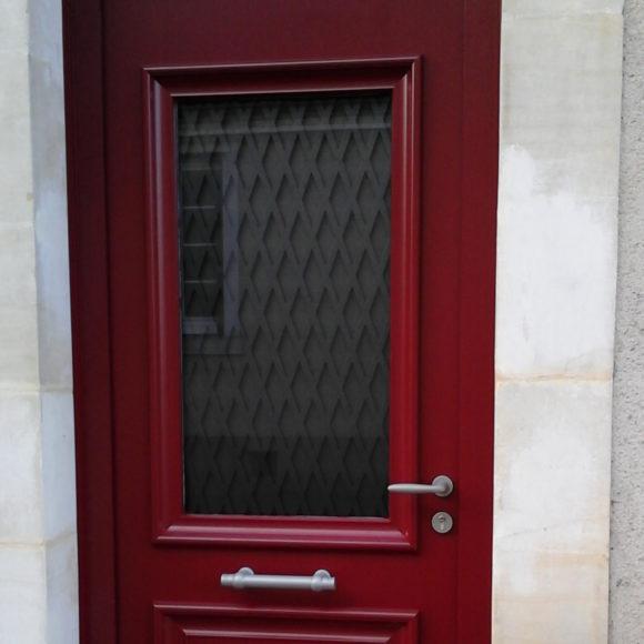 Porte Alu Giteau menuiserie Sarthe 72 Sablé-sur-Sarthe