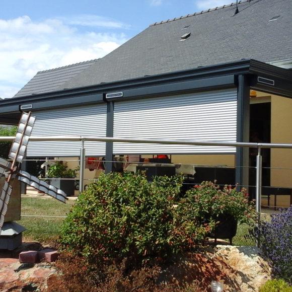 Volets roulants solaires Giteau menuiserie Sarthe 72 Sablé-sur-Sarthe