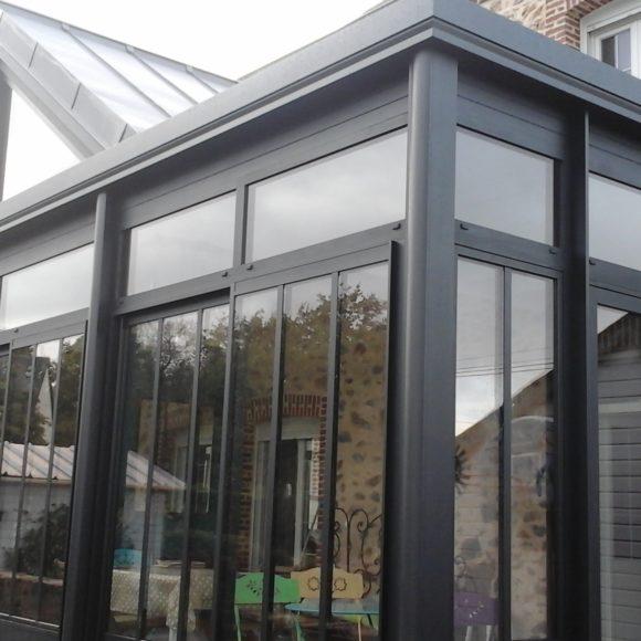 Extension avec toiture ZINC