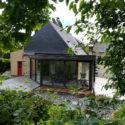 véranda toit plat Giteau menuiserie Ille-et-Vilaine 35 Vitré