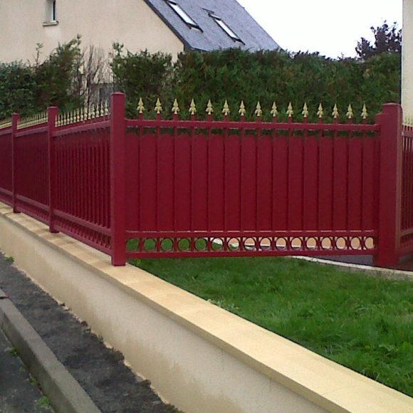 Clôture Giteau menuiserie Mayenne 53 Meslay-du-Maine Laval