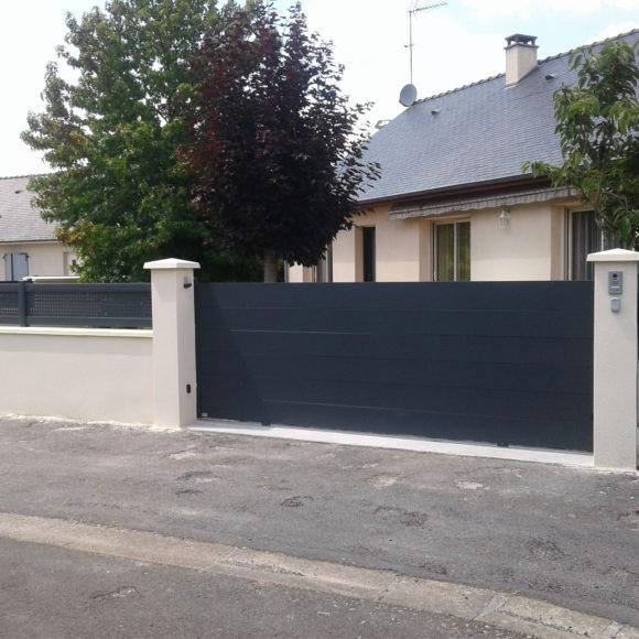 Portail Giteau menuiserie Ille-et-Vilaine 35 Vitré