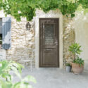 porte d'entrée alu, modèle tradition, existe en mixte bois alu